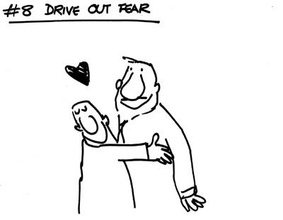 Faire disparaître les peurs