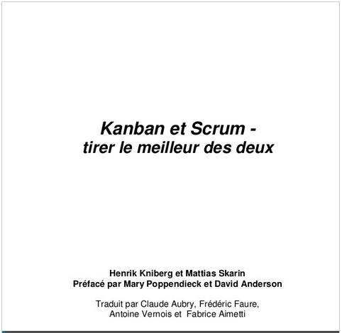 Kanban et Scrum