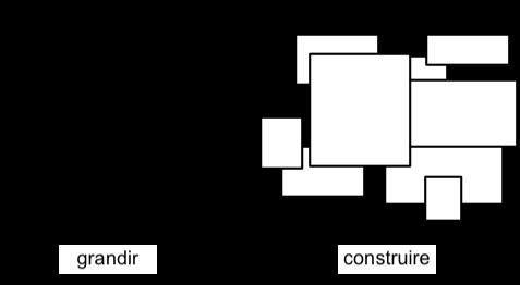 Grandir vs construire